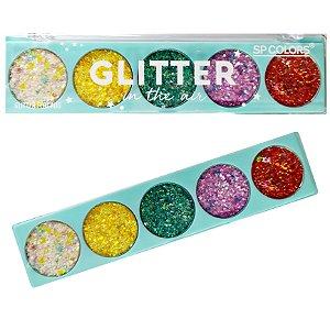 Paleta De Glitter SP Color In The Air Cor A