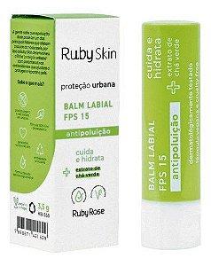 Balm Labial Proteção Urbana FPS 15 Ruby skin