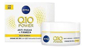 Nivea Creme Facial Antissinais + Elasticidade DiaQ10 Power Fps30 (50g)