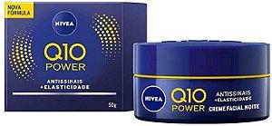 Nivea Creme Facial Anti-Idade 50 g Q10 Power Noite