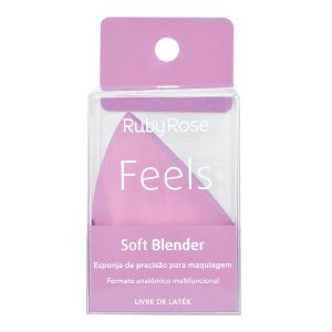 esponja de maquiagem soft blender feels - ruby rose
