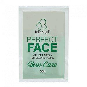 gel limpeza hidratante esfoliante facial - belle angel