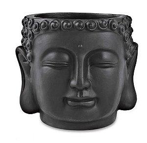 Cachepot Buda Preto