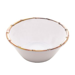 Bowl Melamina Bambu Branco