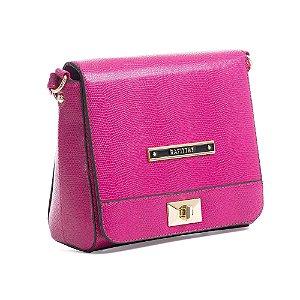 Minibolsa Feminina Transversal Hot Pink - Rafitthy
