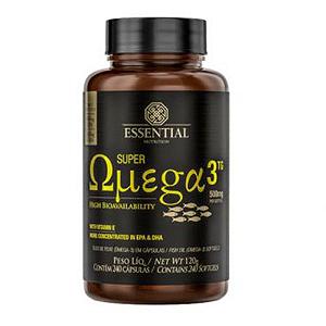 SUPER OMEGA 3 TG (60CAPS) - ESSENTIAL NUTRITION