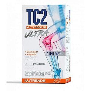 Tc2 Actmove Ultra Colágeno Tipo 2 60 Cápsulas Nutrends