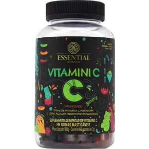 Vitamini C (60 gomas) Essential Nutrition