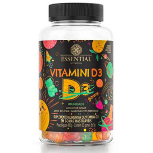 VITAMINI D (60 GOMAS) - ESSENTIAL NUTRITION
