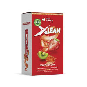 Xlean STRAWBERRY E KIWI (20 Sachês)- True Source