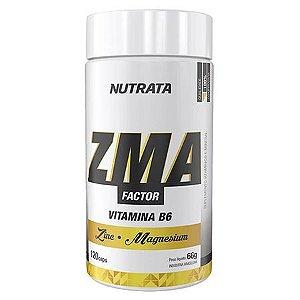 ZMA FACTOR - 120 CAPS - NUTRATA