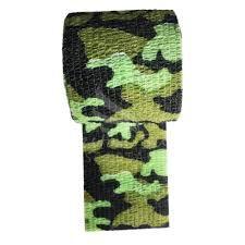 Bandagem Fita Adesiva Auto Aderente - Phantom - Camuflada Verde