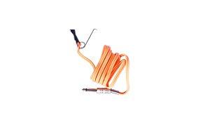 Cabo Clip Cord Plug (P10) Laranja - New Fontes