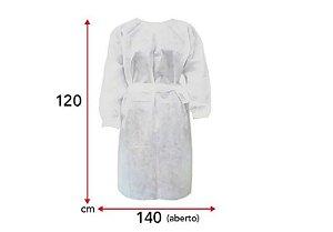 Avental Descartável - Embalagem com 10 unidades