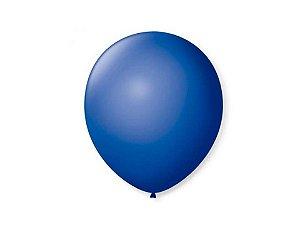 Balão liso nº9 Azul Cobalto com 50 unid.