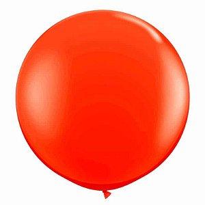 Balão bexigão super liso classic 250 vermelho