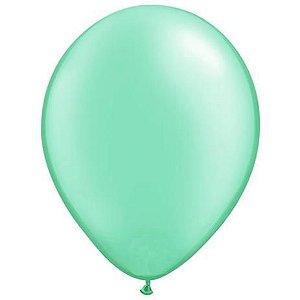 Balão liso nº9 Tiffany com 50 unid.
