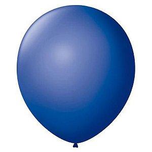 Balão Imperial nº7 Azul Cobalto com 50 unid.