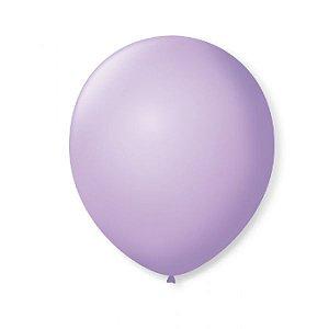 Balão liso nº9 Lilas Soft com 50 unid.
