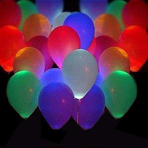 Balão liso nº9 Neon sortido com 25 unid.