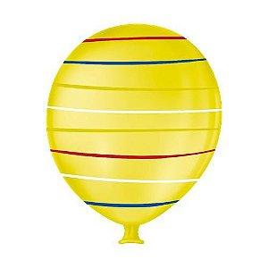 Balão Gigante Arco Ires Amarelo Citrino