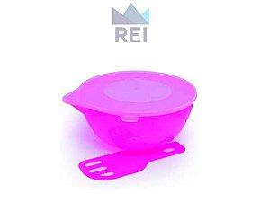 Derretedeira Prática para Chocolate em Plástico Cor Rosa BWB