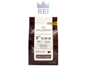 Chocolate em Gotas 70% Callebaut 2,5kg