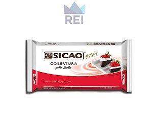 Cobertura Chocolate ao Leite em Barra Sicao 1,01kg