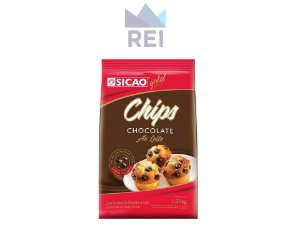 Chocolate ao Leite Chips Sicao 1,01kg