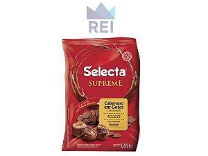 Cobertura Chocolate ao Leite em gotas Selecta 1,01kg
