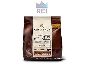 Chocolate em gotas 33,6% Callebaut 400gr