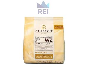 Chocolate Branco em Gotas Callebaut 400gr