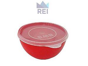 Derretedeira Prática para Chocolate em Plástico Cor Vermelha BWB