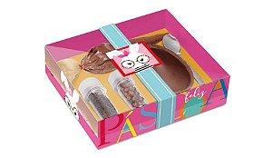 Caixa Kit Confeiteiro Páscoa Rosa 100g