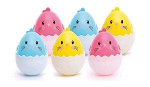 Embalagem Ovos coloridos sortidos com 6 unid. Cromus
