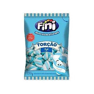 Marshmallow Torção Azul 250g Fini