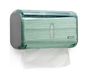 Dispenser Toalha Compacto Urban Glass Verde Premisse