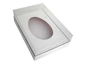 Caixa de Ovo de Colher Branca 500g