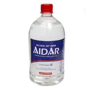 Álcool 70º 1 Litro Aidar