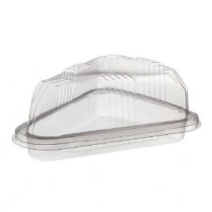 Embalagem Fatia torta cristal G630 com 20 unid. Galvanotek