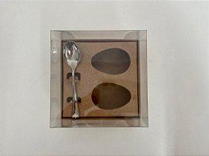 Caixa de Ovo de Colher 2 de 50g Kraft Stylus