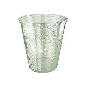 Copo descartável Biodegradável PP 180ml pacote com 100 unid. Copobras