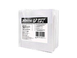 Pano V-Wipe 50L Branco com 50 Panos Vabene