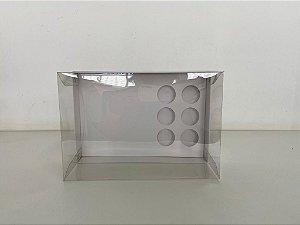 Caixa branca Coração lapidado 200g + 6 doces