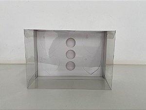 Caixa branca Coração lapidado 4 de 65g + 6 doces
