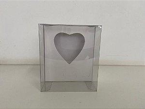 Caixa branca Coração de colher 250g