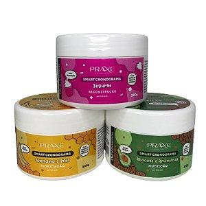 Trio Smart Cronograma - Hidratação, Nutrição e Reconstrução