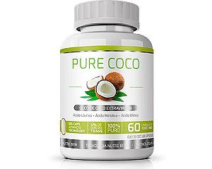 Pure Óleo de Coco|Ekobé 60 Cáps