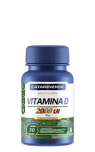 Vitamina D - Nutrição 2000 UI |Catarinense 30 Cáps