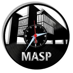 Relógio de Vinil - Masp Turismo São Paulo